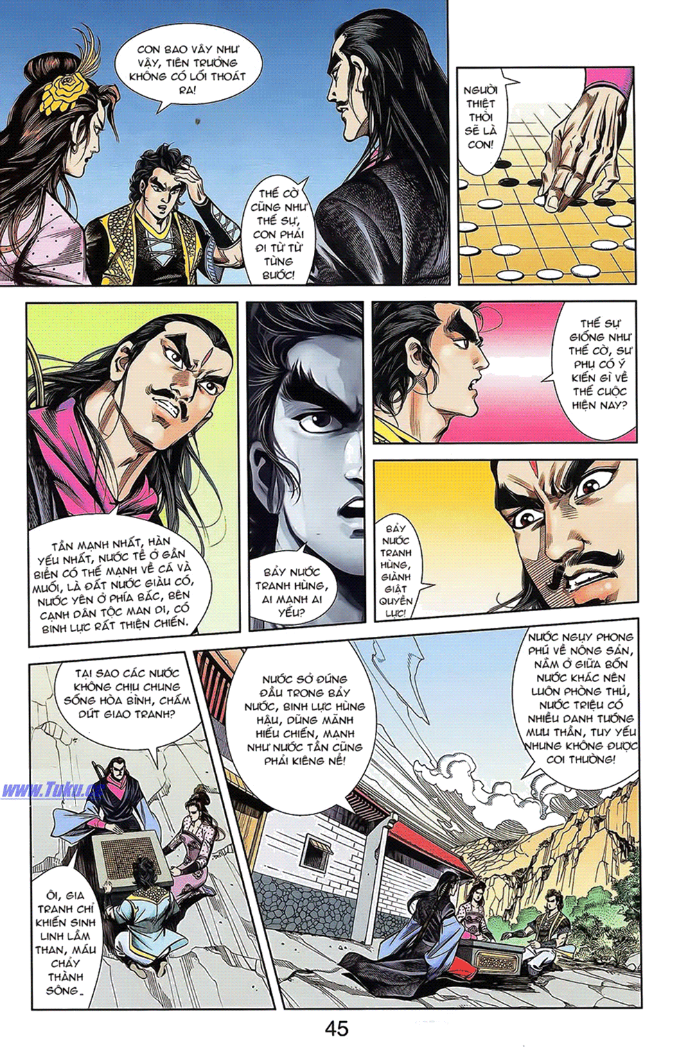 Tần Vương Doanh Chính chapter 16 trang 19