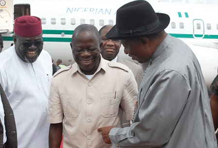 Jonathan and Oshiomhole