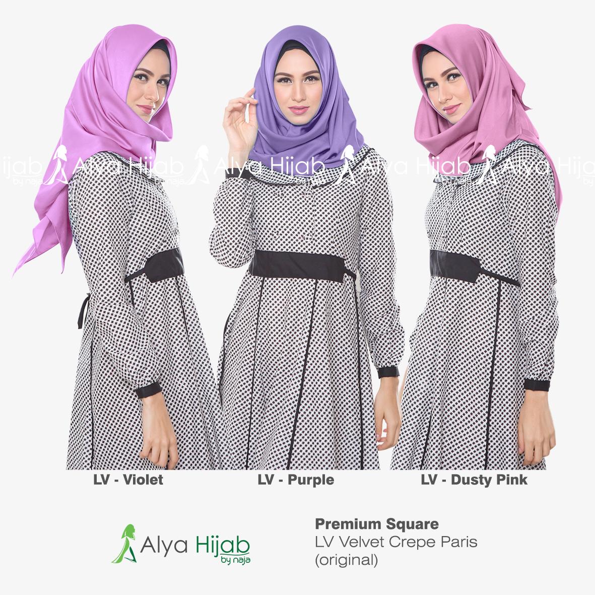 Gambar Tutorial Hijab Velvet Segi Empat Segiempat 27 Lengkap Denim Terlengkap