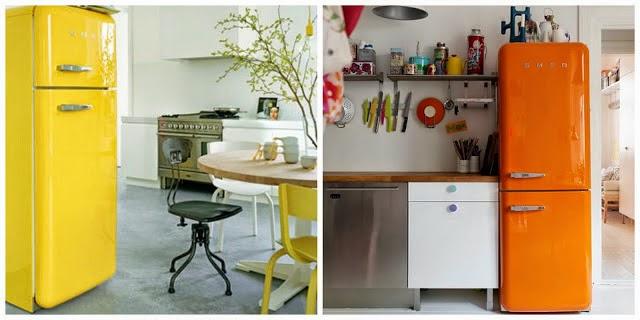 Bellezza ambientaciones y dise o de interiores - Cocinas retro anos 50 ...