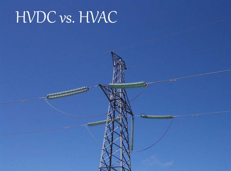 HVDC vs  HVAC transmission | electricaleasy com