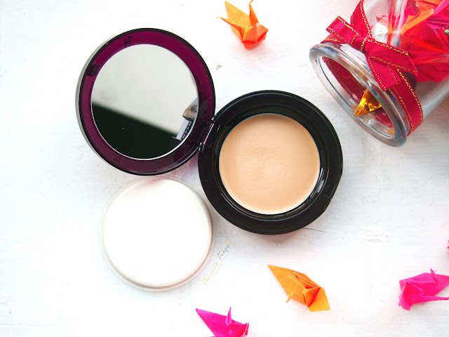 privia u miracle bb compact is a foundation and powder in one go. Practical with a medium to high coverage perfect for dry skin.