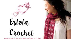 Estola calada a crochet / Patrones DIY