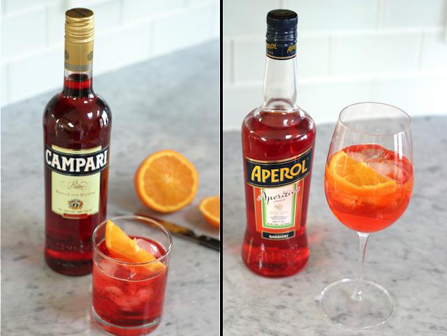 Campari and Aperol