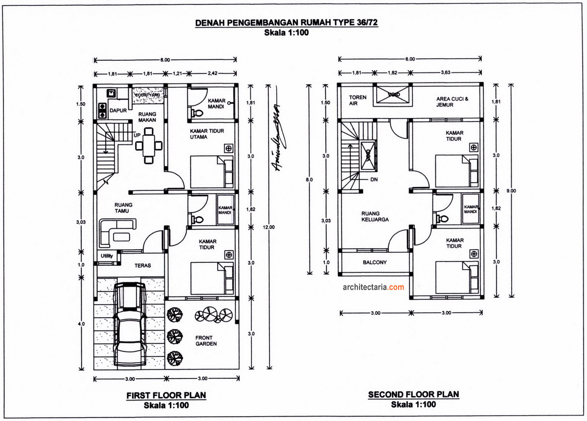 √ 33 desain rumah minimalis type 36 terbaru yang modern dan simpel