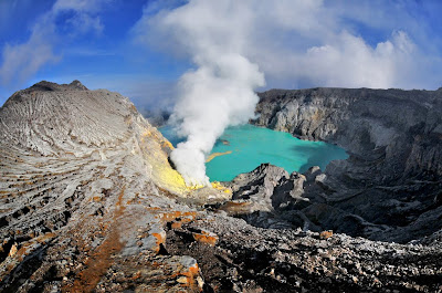 The Wonderful of Ijen Volcano, East Java