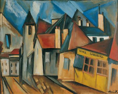 Pintores y pinturas juan carlos boveri maurice de vlaminck - Pintura instinto ...