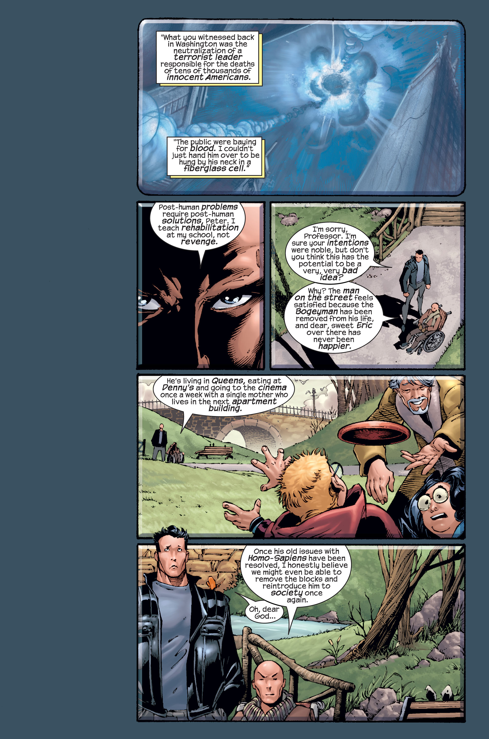 Read online Ultimate X-Men comic -  Issue #15 - 18
