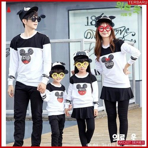 AKC027S145 Sweater Couple DBM Anak 027S145 Keluarga Mickey BMGShop