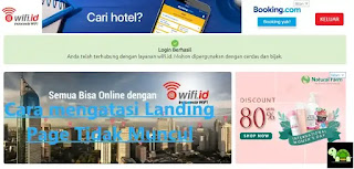 Wifi ID Landing Page
