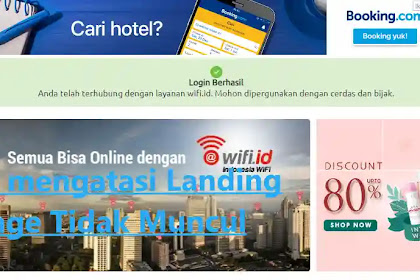 Cara Mengatasi Wifi ID Landing Page Tidak Muncul
