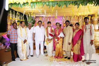Celebrities at Prabhu Thej and Varsha Wedding Photos
