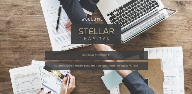 Landing Page Website Stellar Capital