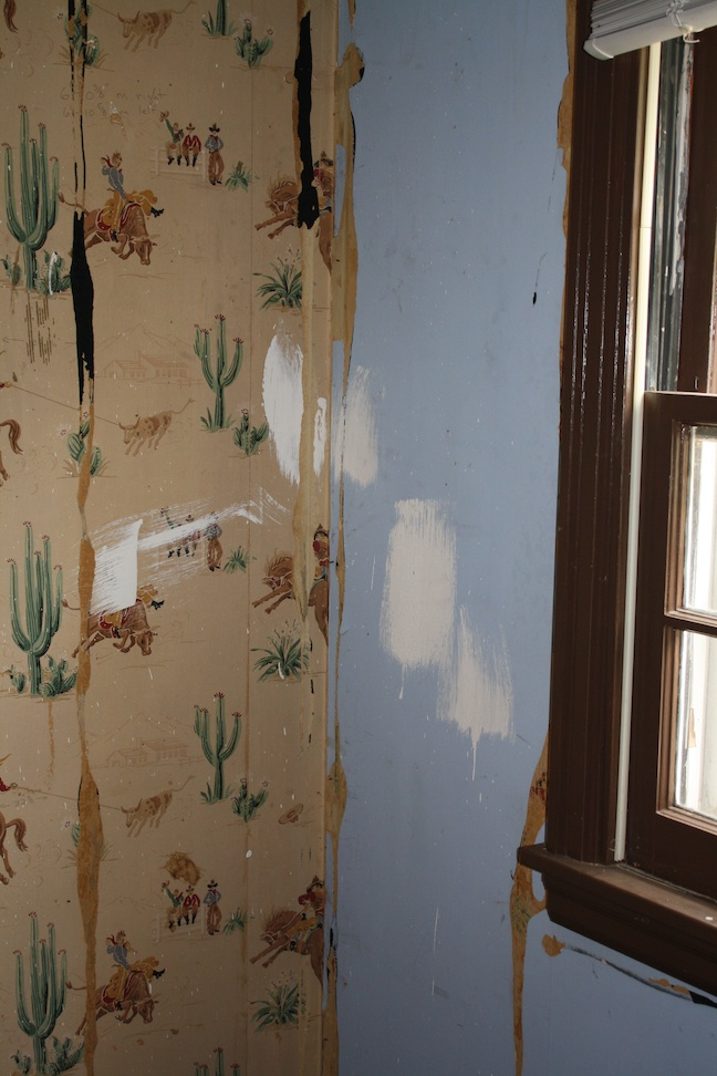 On The Doorstep S Long Cowboy Vintage Wallpaper That Can