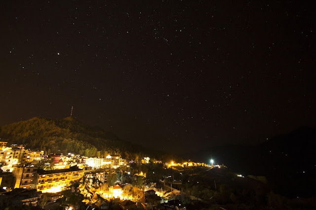 Beautiful sparkling night Sapa 1