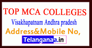 Top MCA Colleges in Visakhapatnam Andhra pradesh