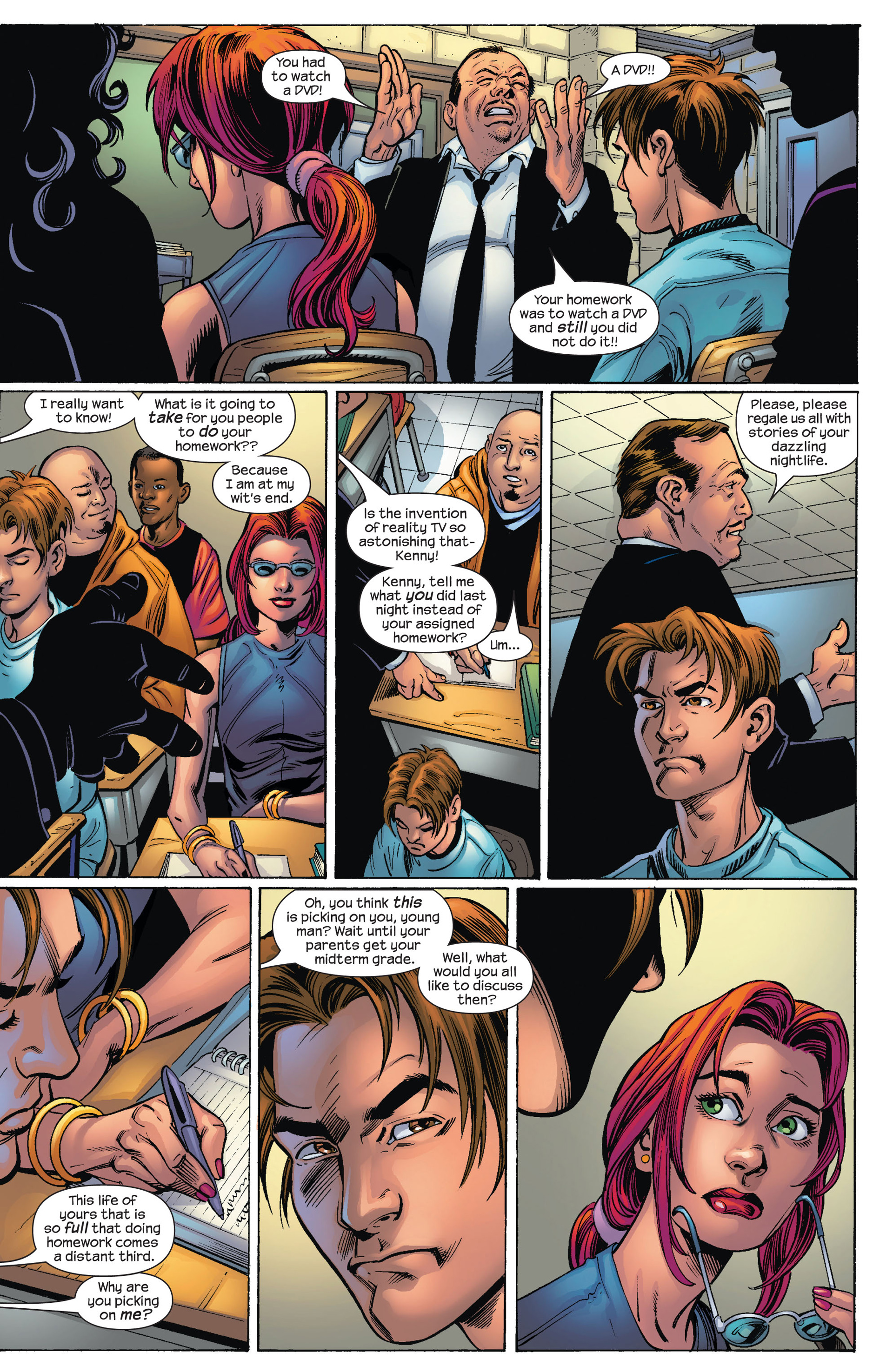 Read online Ultimate Spider-Man (2000) comic -  Issue #78 - 4