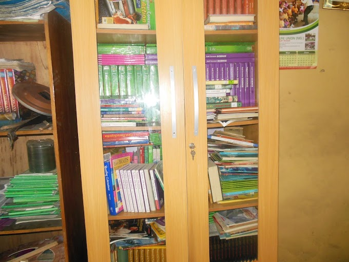 A BOOKSHELF FULL OF BOOKS WITH THE POWER TO CREATE A READING CULTURE!