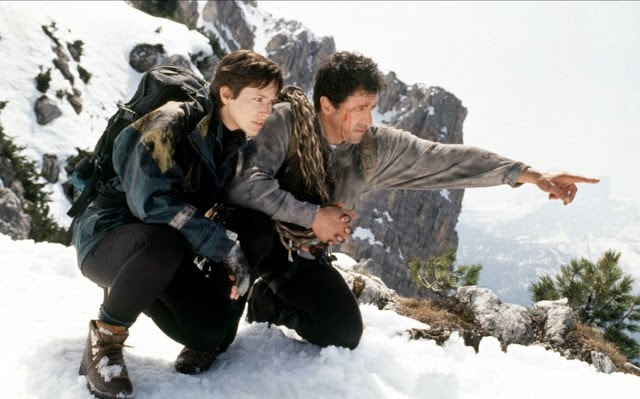 Sylvester Stallone Cliffhanger mountain climbing action movie