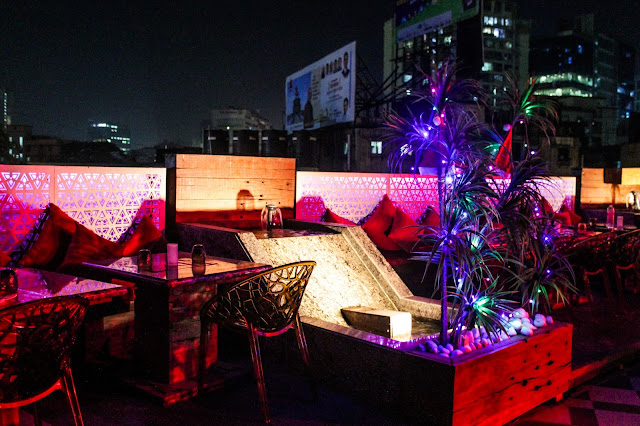 The Tipsy Terrace Bar India FRIENDS Food Drinks Dessert Review Blogger Vegetarian Masterchef Lifestyle