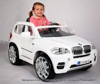 Mobil Mainan Aki Junior JB15 BMW X5 Lisensi