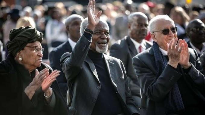 World pays tribute to ex-UN chief Annan