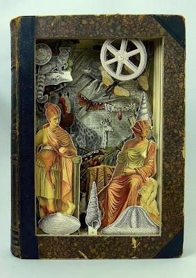 Collage y arte con libros