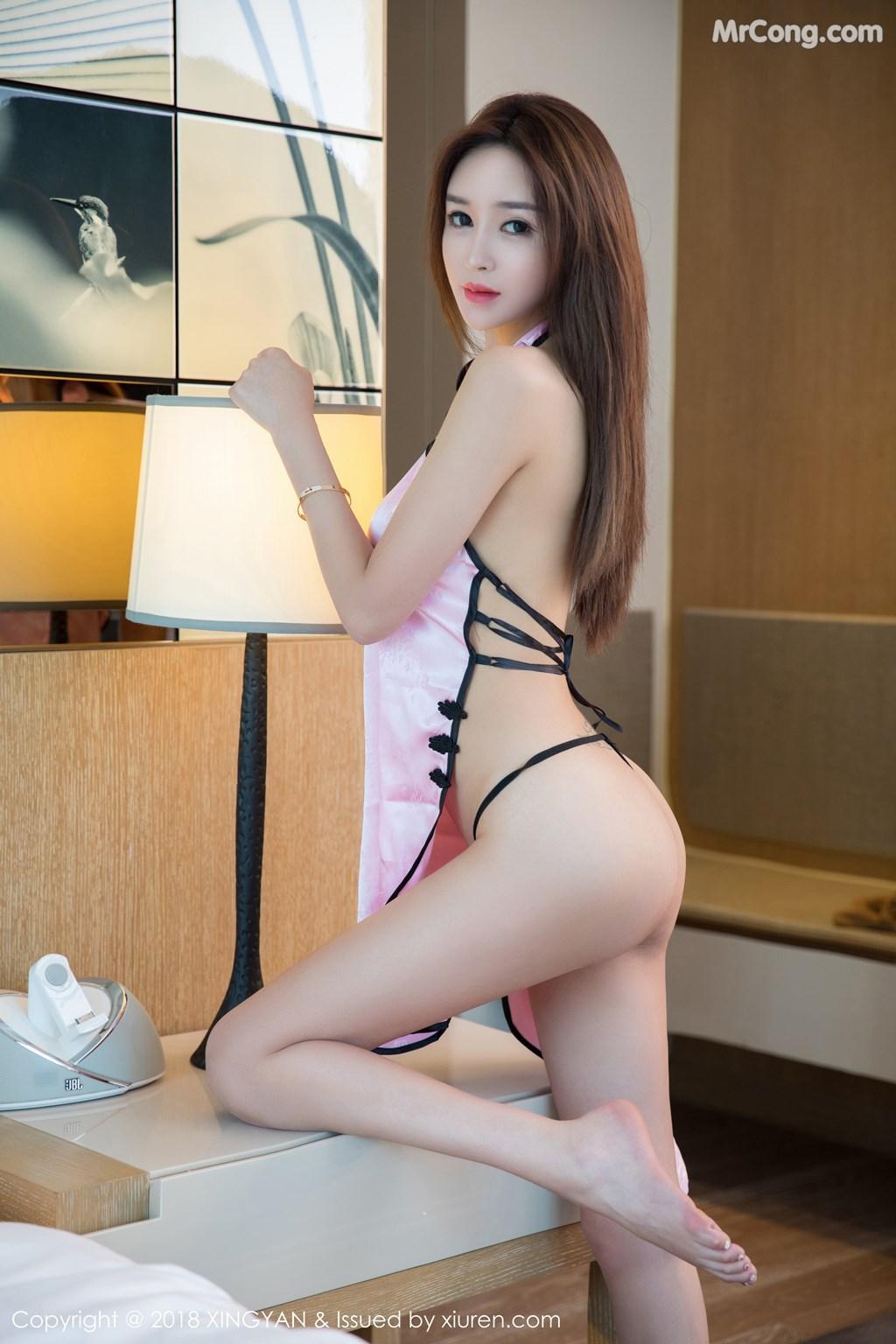 Image XingYan-Vol.081-Zhao-Xin-Yue-MrCong.com-003 in post XingYan Vol.081: Người mẫu Zhao Xin Yue (赵馨悦) (39 ảnh)