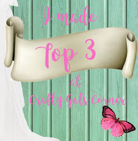 Top 3 at the Crafty Gals Corner!
