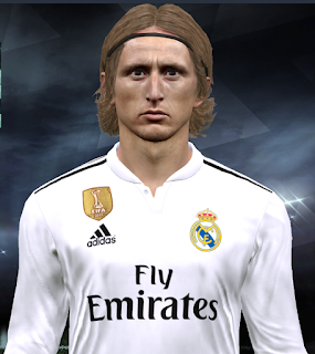 PES 2017 Faces Luka Modrić by Facemaker Huseyn
