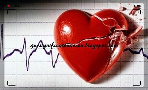 porque me late fuerte el corazon y me duele
