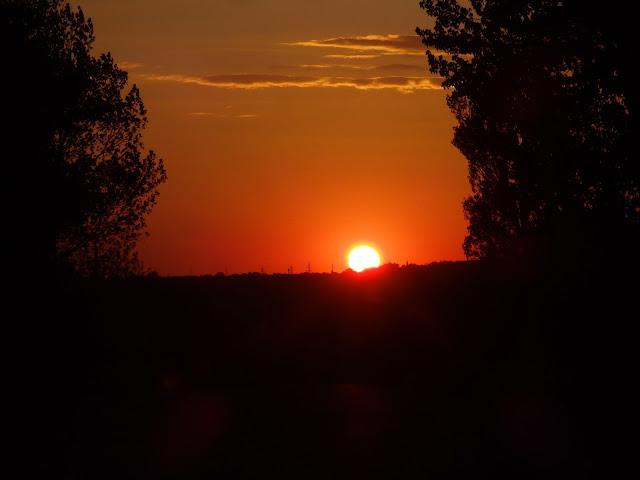 Zmierzamy do granicy, prosto w stronę słońca