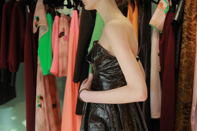 Roksanda Ilincic Fall/Winter Collection 2013 backstage