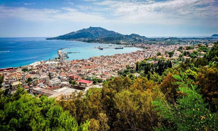 The spot of Zante with the best view of Zakynthos Town