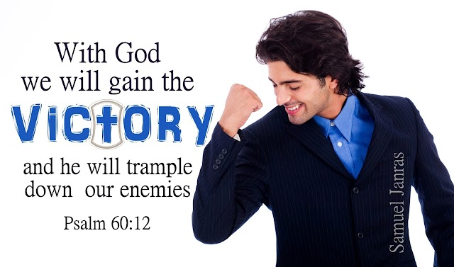 Victory Bible Quote and Wallpapers