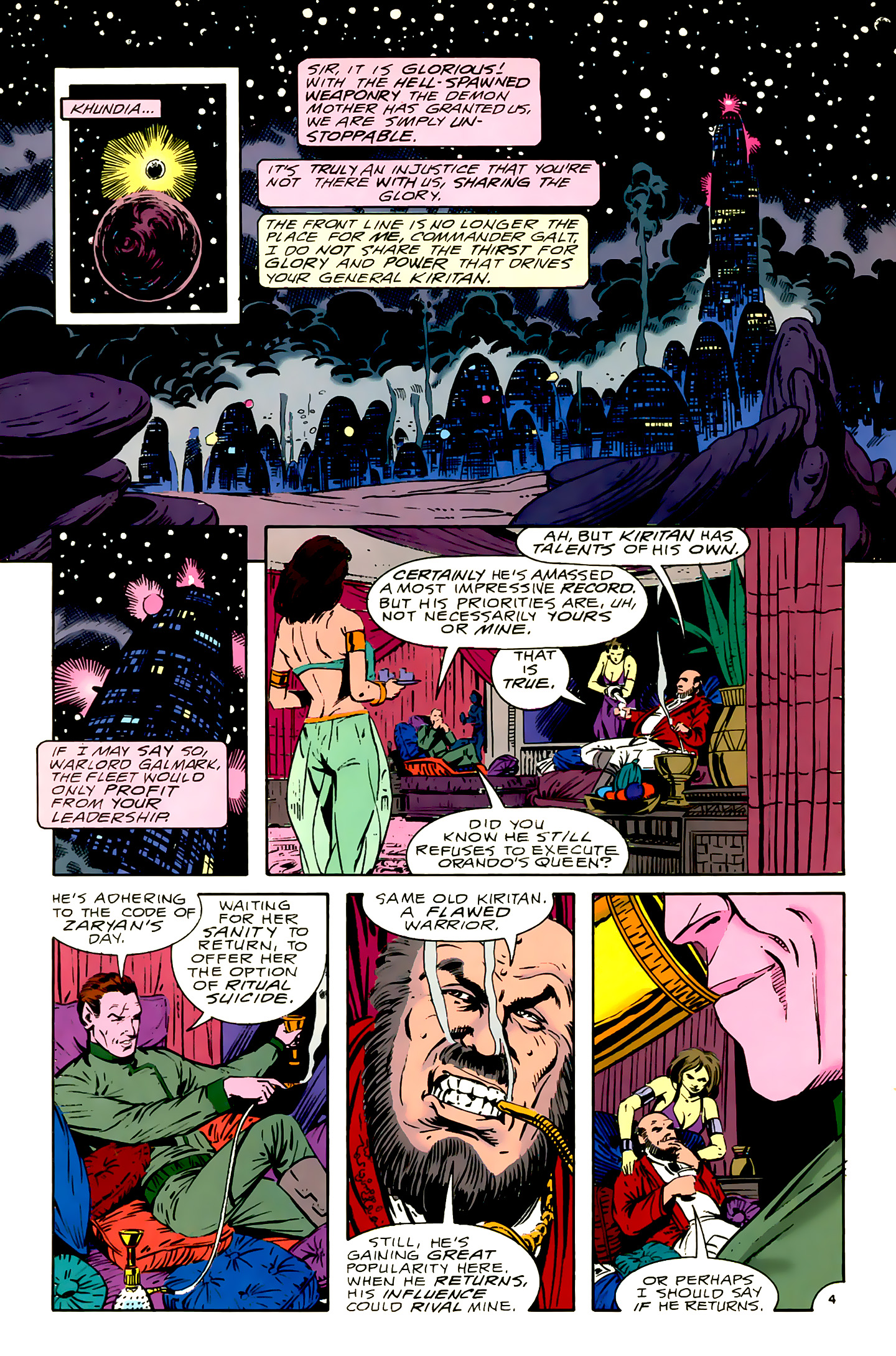 Legion of Super-Heroes (1989) 16 Page 4