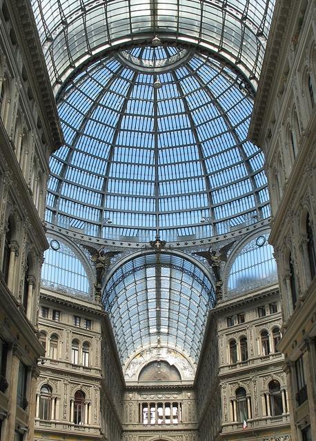 Galeria-Umberto-I-Nápoles