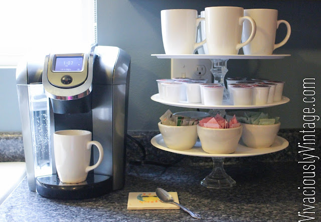 Simple DIY Cupcake or Coffee Stand for only $6!