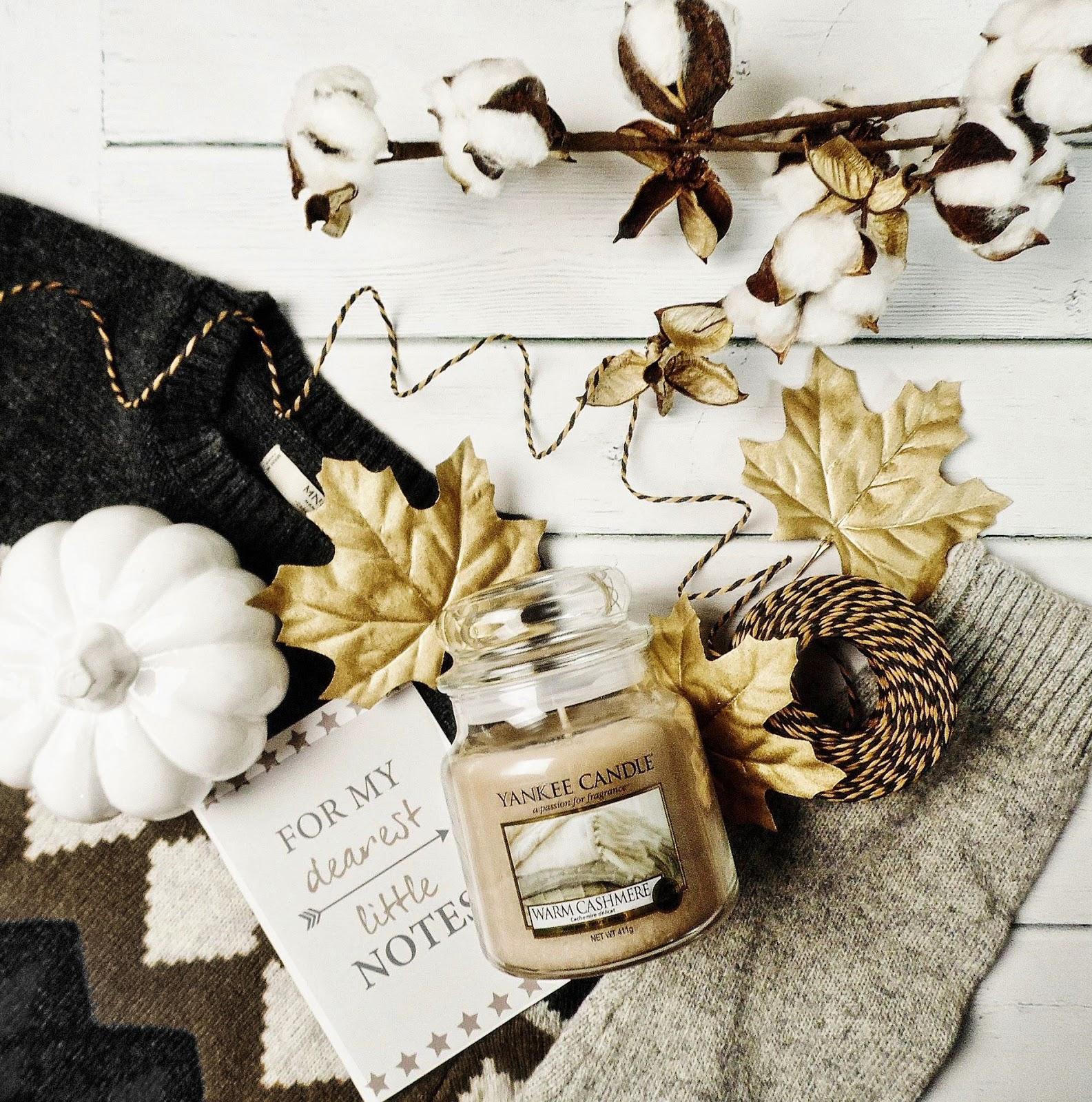 warm cashmere yankee candle jesień 2018 q3