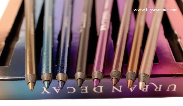 Urban Decay Ocho Loco 24/7 Glide On Eye Pencils