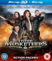 Download The Three Musketeers 3D (2011) BluRay 720p Half SBS 700MB Ganool