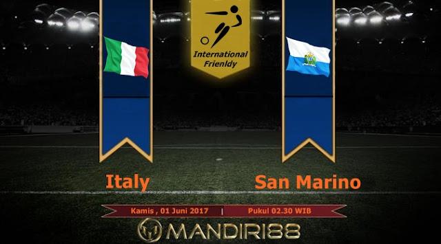 Prediksi Bola : Italy Vs San Marino , Kamis 01 Juni 2017 Pukul 02.30 WIB