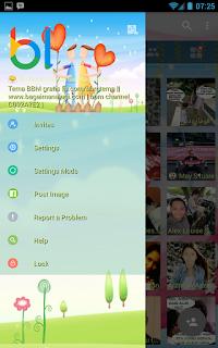 BBM Whatsapp MOD v3.0.1.25 APK Tema Always Together