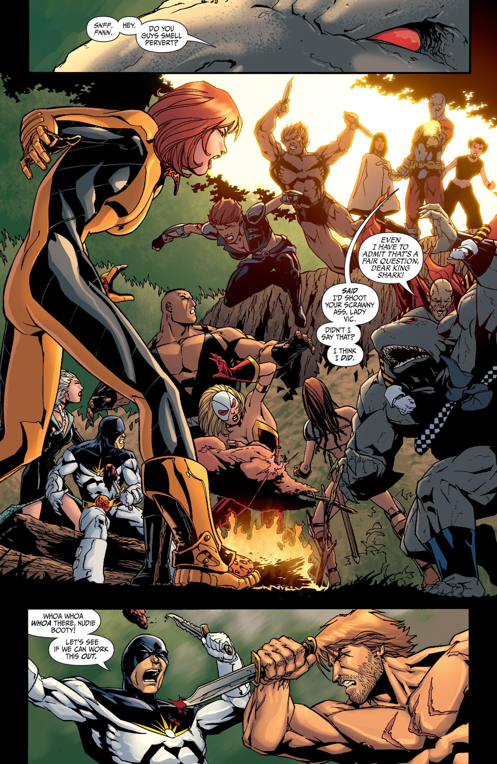 Read online Secret Six (2008) comic -  Issue #26 - 19