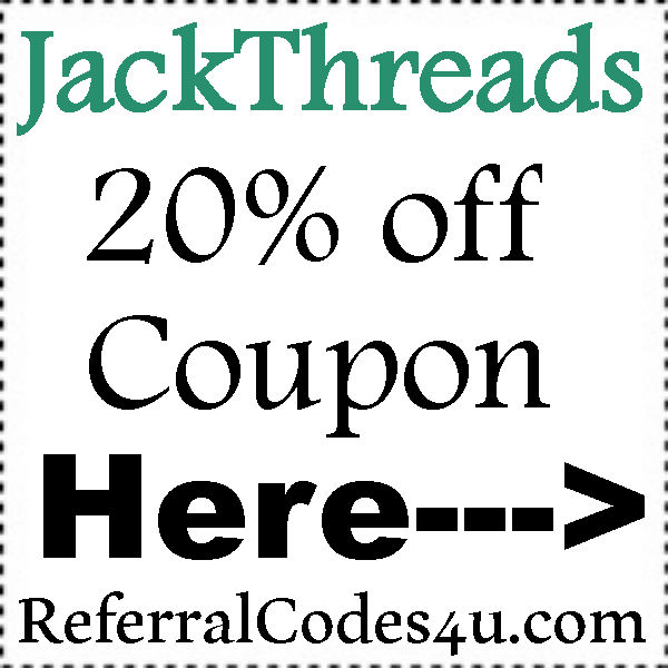20% off JackThreads Promo Code 2016-2017, JackThreads Reviews, JackThreads FREE Shipping June, July, August, September