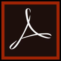 Preview of Adobe reader, software, pdf reader, logo, icon