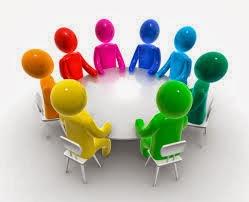 Ronde Tafel Sessie.Mens In Dialoog Het Rondetafelgesprek