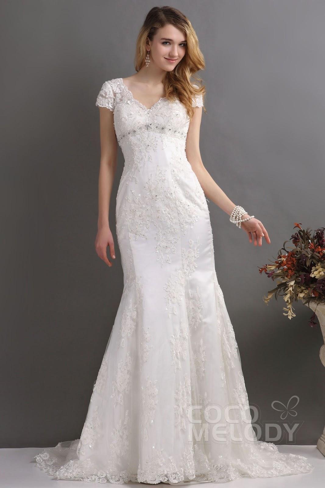 2013 the most beautiful wedding dress: Wide satin bustier wedding ...
