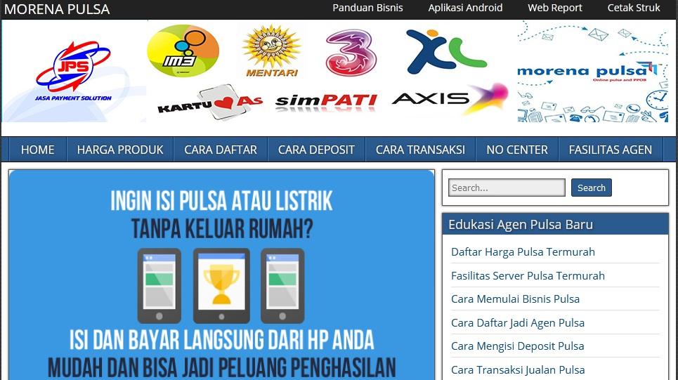 web pemasaran - web pulsa gratis - blog pulsa - www.servermorenapulsamurah.com