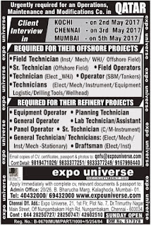 Offshore & Refinery Projects jobs in Qatar